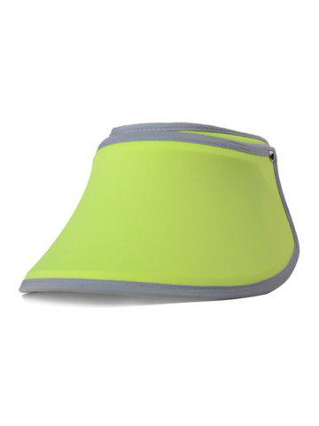Trendy Anti-UV Open Top Wide Brim Sun Hat