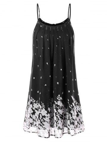 Shops Floral Print Chiffon Cami Dress