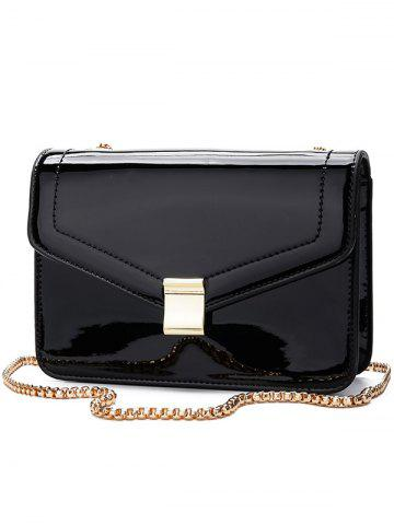 Online Minimalist Metal Chain Crossbody Bag