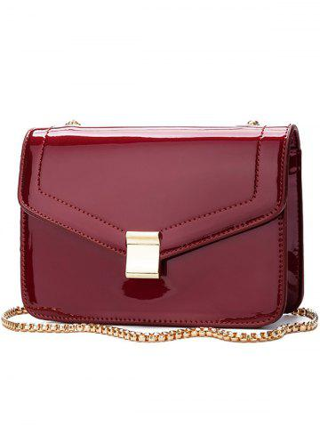 Outfits Minimalist Metal Chain Crossbody Bag