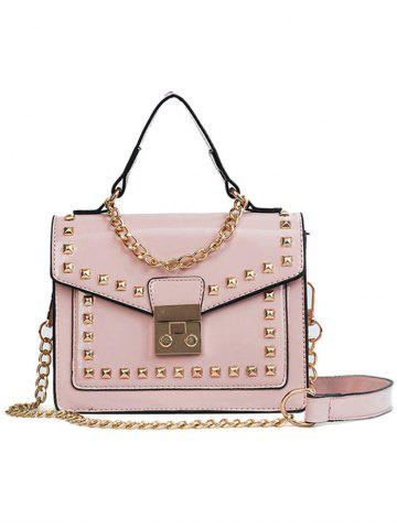 Unique Chic Daily Shopping Rivets Crossbody Bag