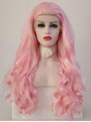 Long Free Part Wavy Party Synthetic Lace Front Wig -