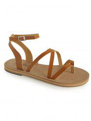 Casual Holiday Ankle Strap Thong Sandals -