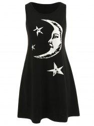 Mama Moon Star Mini Tank Dress -