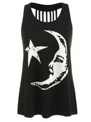 Mama Moon Ripped Back Tank Top -