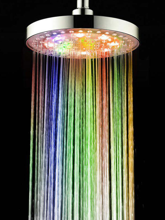 Online Bathroom Colors LED Light Shower Head