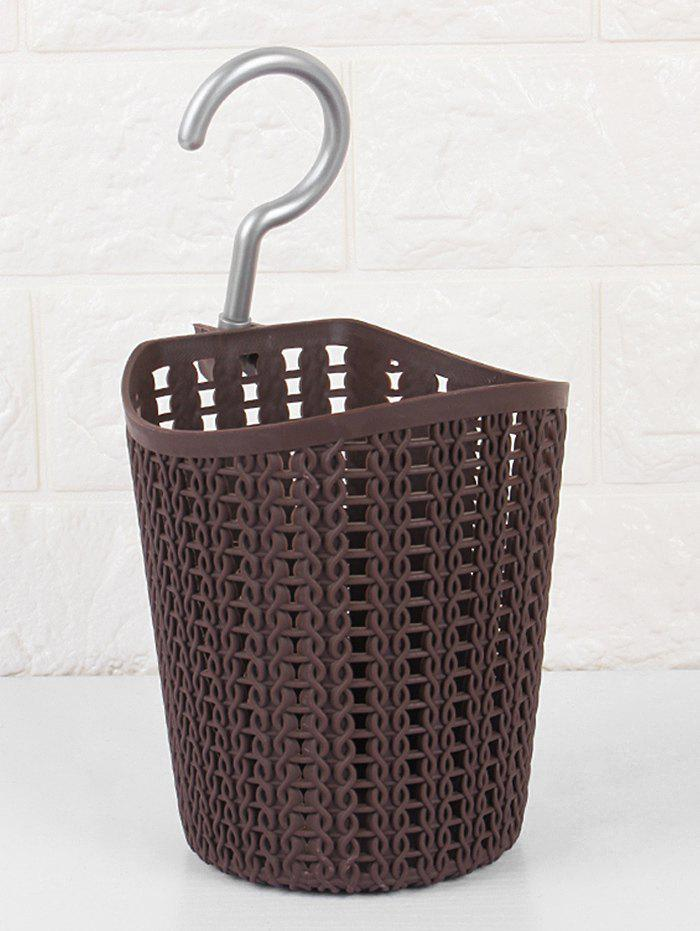 Hot Metal Hook Cylinder Bath Storage Basket