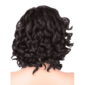 Medium Side Bang Body Wave Synthetic Wig -
