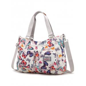 Outdoor Casual Flowers Multiple Function Tote Bag -