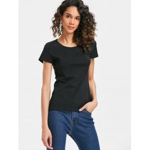 Butterfly Hollow Out Back T-shirt -
