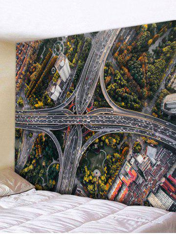 Unique Overpass Pattern Wall Art Tapestry