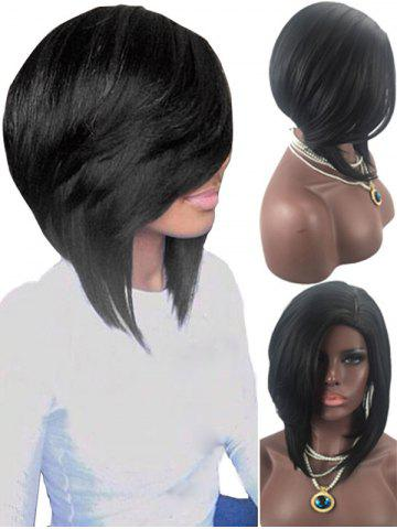 Best Medium Side Parting Straight Synthetic Wig