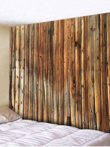 Store Vertical Wood Texture Print Tapestry