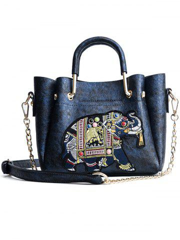Cheap Beading Embroidery Vintage Tote Bag