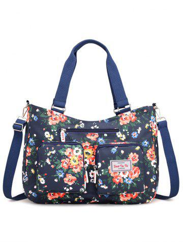 Store Outdoor Casual Flowers Multiple Function Tote Bag