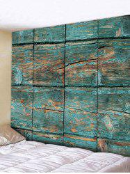 Paint Stripping Wood Planks Print Tapestry -
