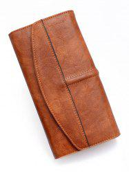 Large Capacity Minimalist Clutch Wallet -