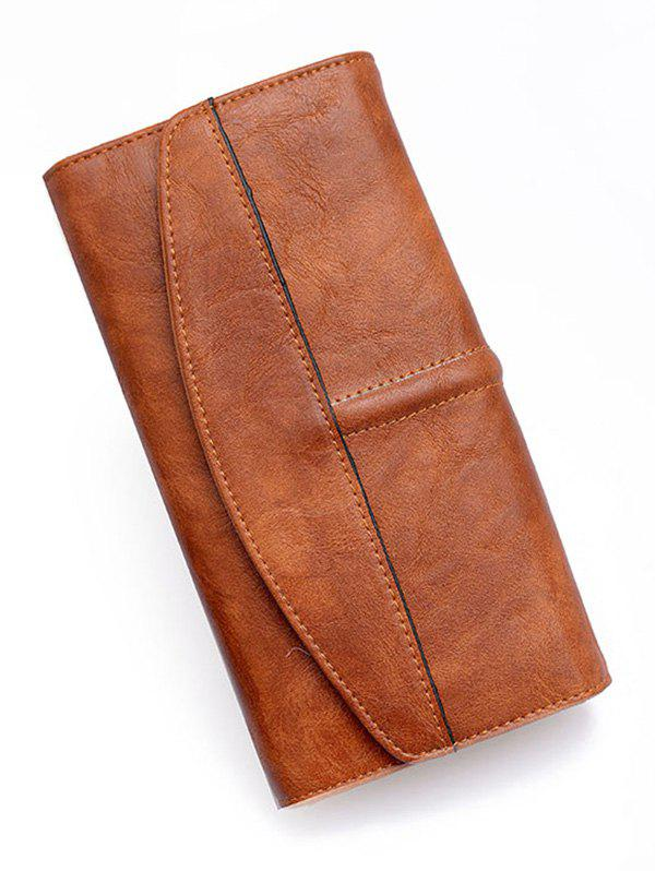 Discount Large Capacity Minimalist Clutch Wallet