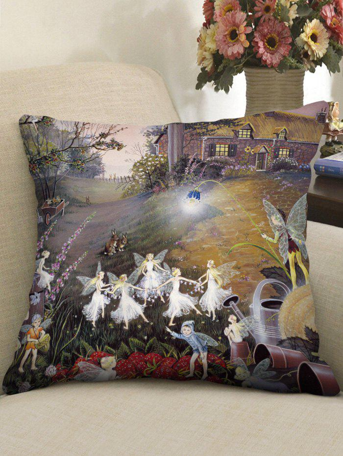 Cheap Fairy Home Print Decorative Sofa Pillowcase