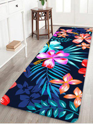 Fancy Home Decor Blooming Flowers Printed Floor Mat