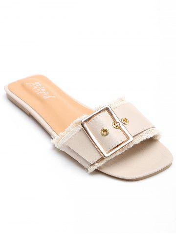 Cheap Outdoor Casual Metal Buckle Slides