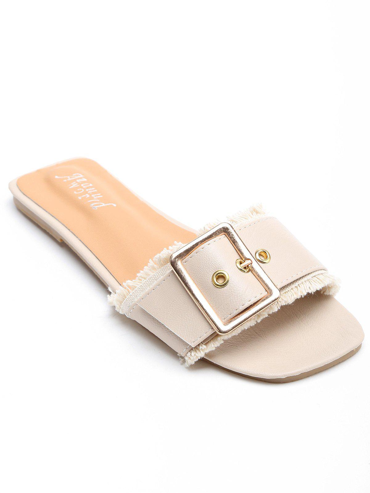 Outfit Outdoor Casual Metal Buckle Slides