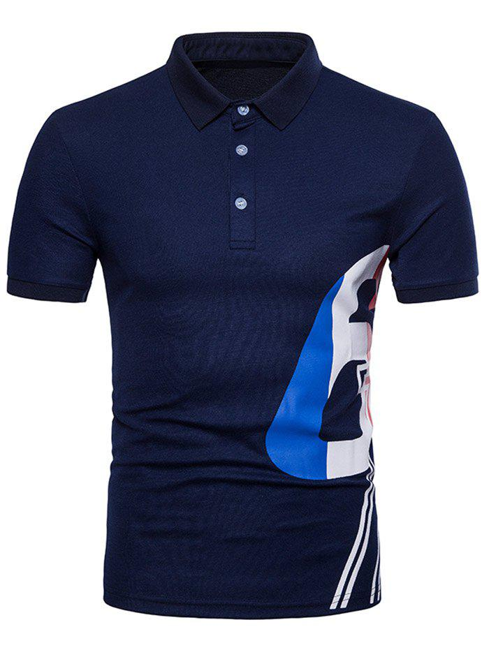 58% OFF   2019 One Side Print Casual T-shirt  407dab09f72a