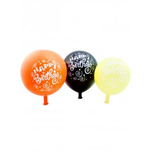 50PCS Round Latex Balloons for Birthday Party Decor -