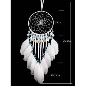 Hanging Shells Beads Decorations Feathers Dream Catcher -