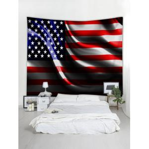 Stars and Stripes Print Wall Hanging Tapestry -