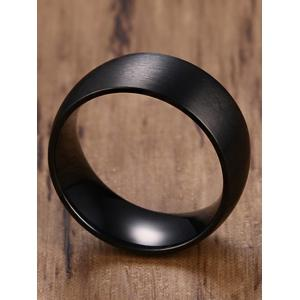 Simple Metal Circle Finger Ring -