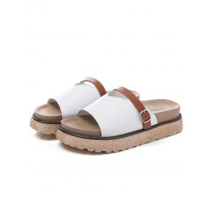 Lanbaoli Slip On Platform Casual Outdoor Slippers -
