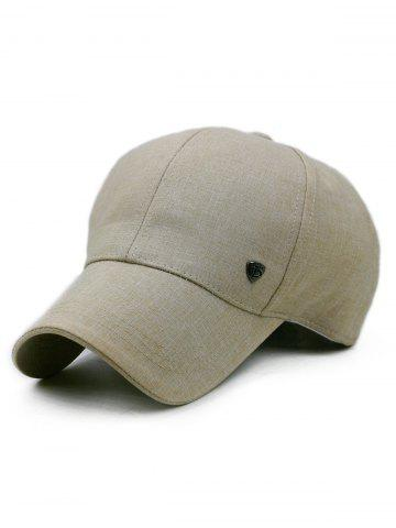 Solid Color Outdoor Baseball Cap