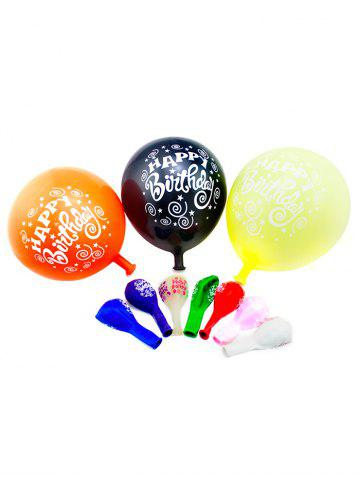Sale 50PCS Round Latex Balloons for Birthday Party Decor