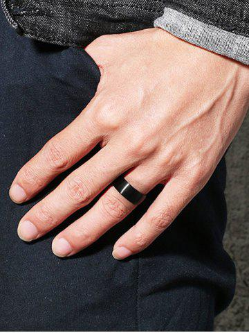Latest Simple Metal Circle Finger Ring