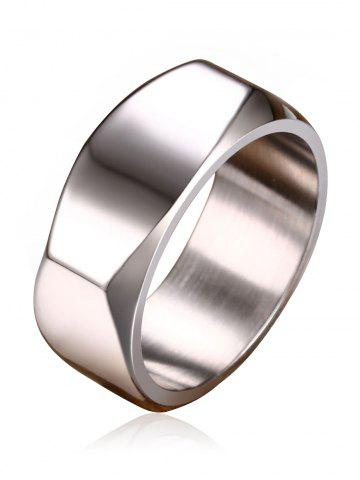 Cheap Geometric Design Metal Band Ring