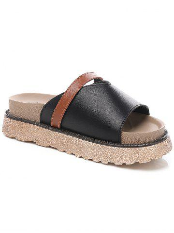 Outfit Lanbaoli Slip On Platform Casual Outdoor Slippers