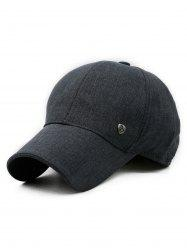 Solid Color Outdoor Baseball Cap -