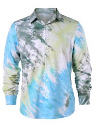 Long Sleeve Tie Dye Shirt -