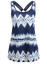 Chevron Print Tank Top -