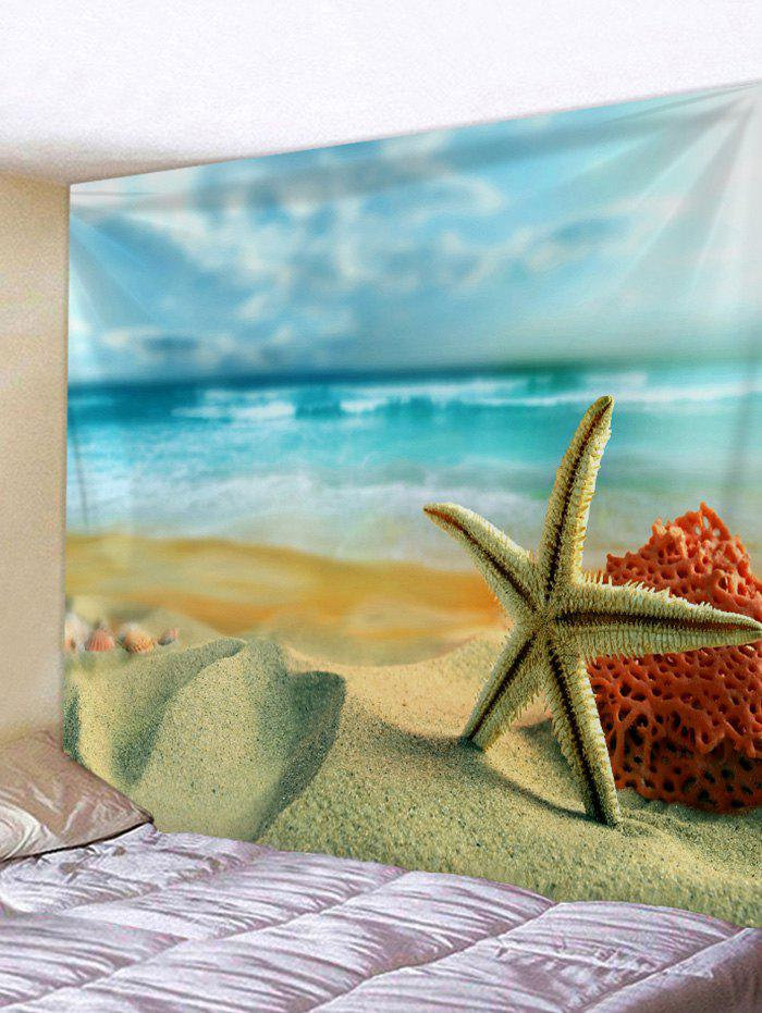 Outfits Sea Beach Starfish Print Wall Tapestry