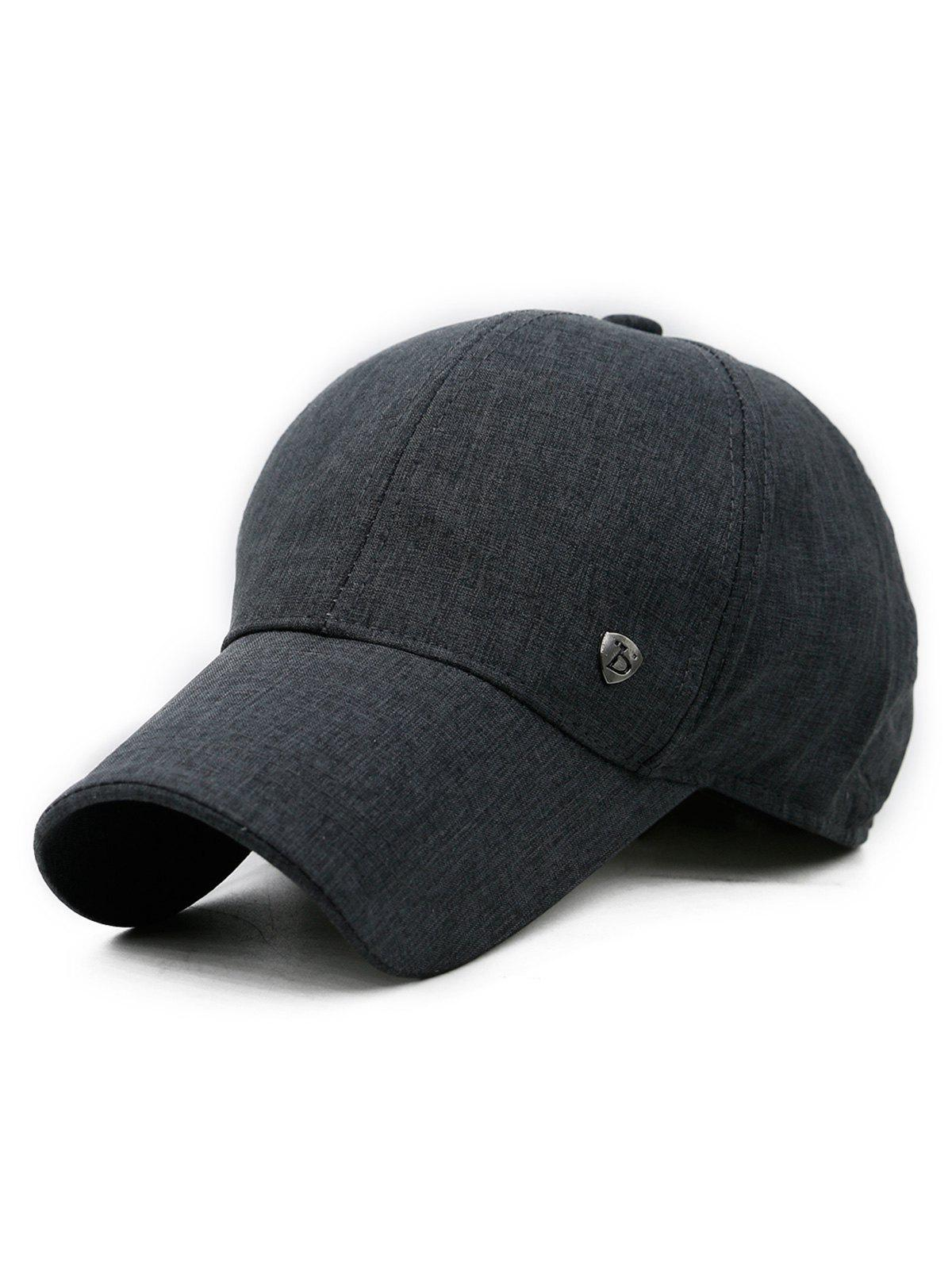 Affordable Solid Color Outdoor Baseball Cap