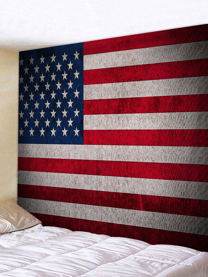 Store American Flag Print Wall Art Tapestry