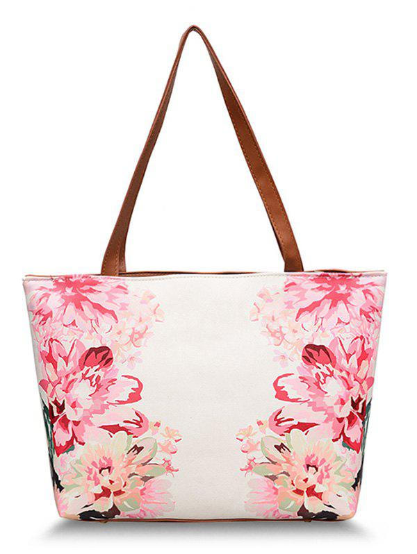 Unique All Over Floral Casual Shoulder Bag