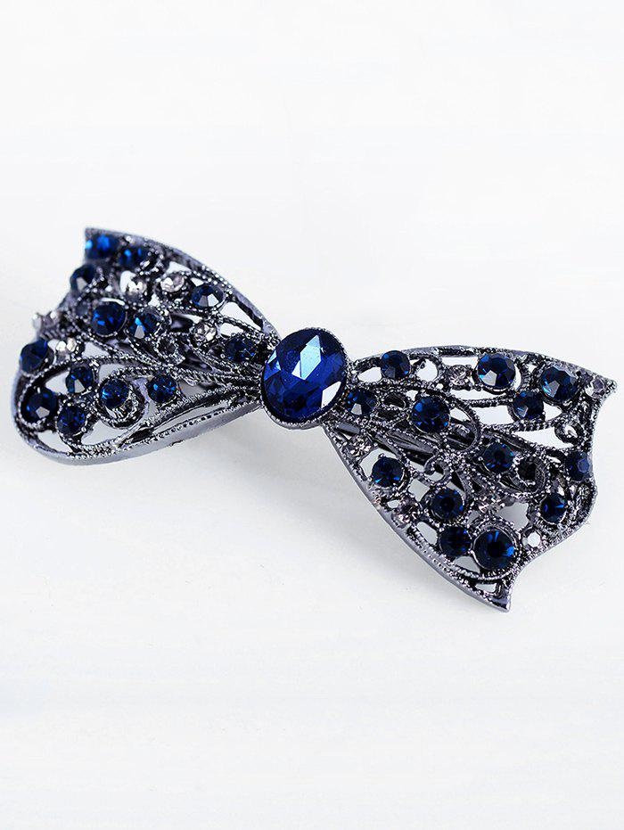Buy Sparkly Rhinestone Alloy Bows Hairpin