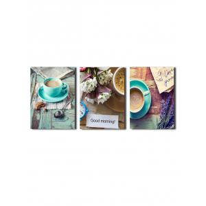 Morning Scenario Print Unframed Canvas Painting Wall Art Decor for Home -