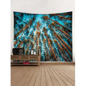 Wall Hanging Art Forest Sky Print Tapestry -