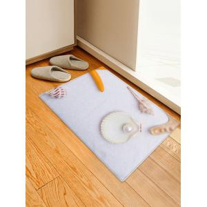 Conch Pearl Pattern Water Absorption Area Rug -