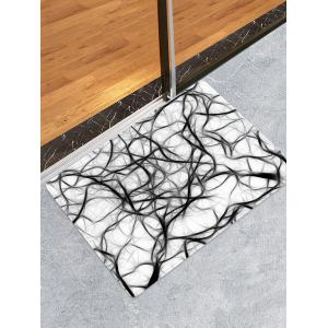 Tapis de Sol Absorbant Motif Art Abstrait -
