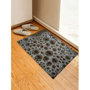 Beach Sea Froths Pattern Water Absorption Area Rug -